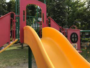 浮間公園の滑り台