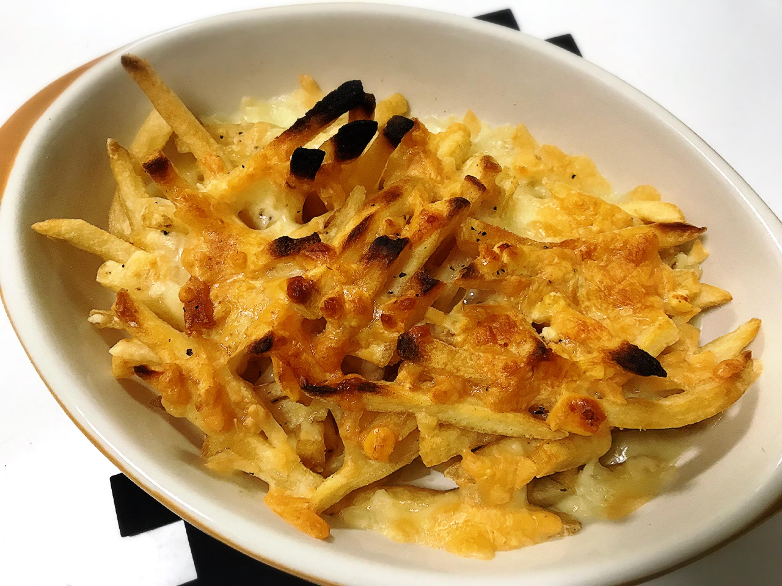 マックフライドポテトのチーズグリル